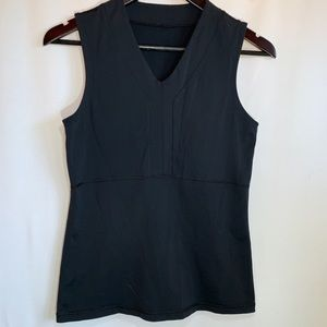Lululemon V-Neck Athletic Tank - Black